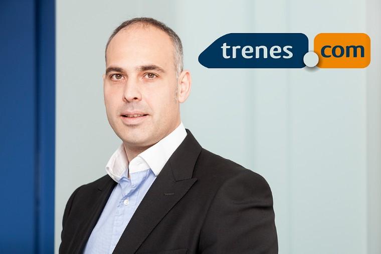 Foto de Pere Sallent, CEO de Trenes.com