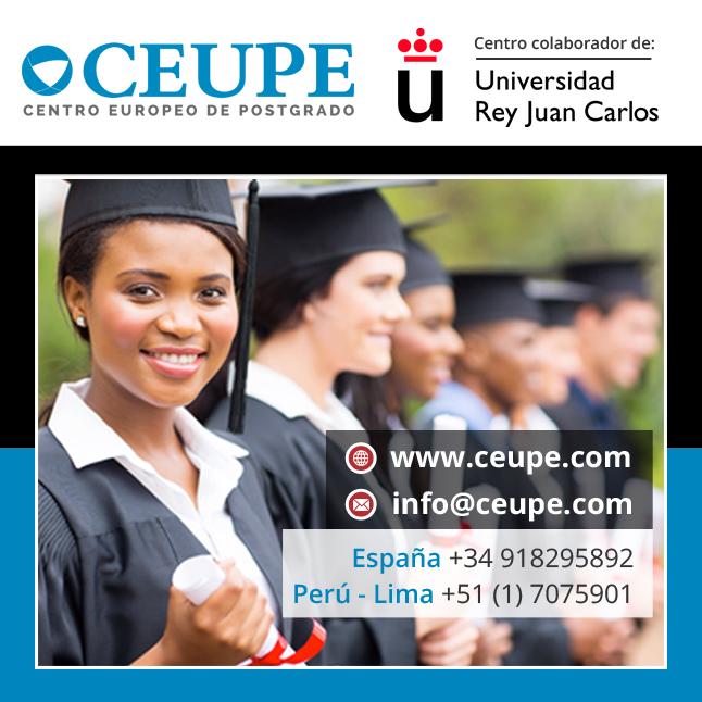 Maestrías URJC-CEUPE