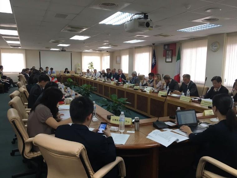 Foto de Se consolidan las relaciones económicas entre Italia y Taiwan