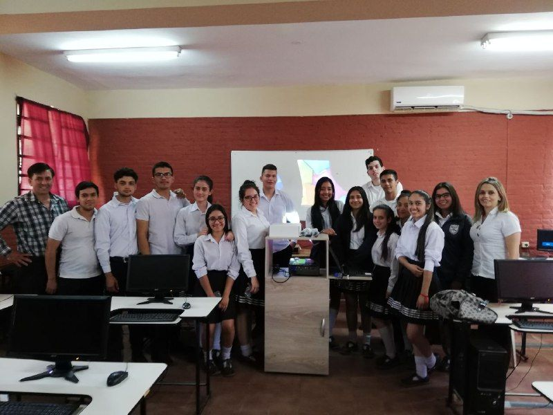 Foto de Alumnos de la escuela Tajy Loma