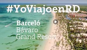 Foto de Apoyo de Barceló a República Dominicana #YoViajoenRD